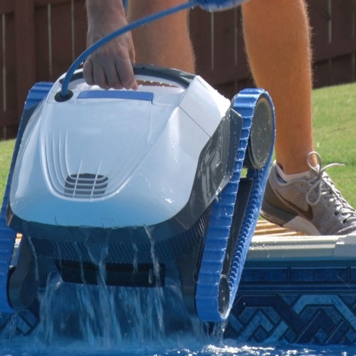Dolphin S50 Robotic Pool Cleaner Quick Water Release