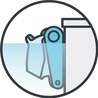 Waterline Cleaning Icon