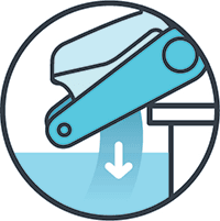 Fast Water Release Icon