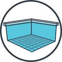 Floors, Walls and Waterline Icon