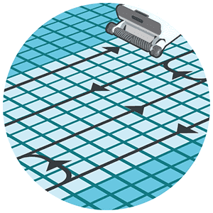 Commercial Line-by-Line Cleaning Process Icon