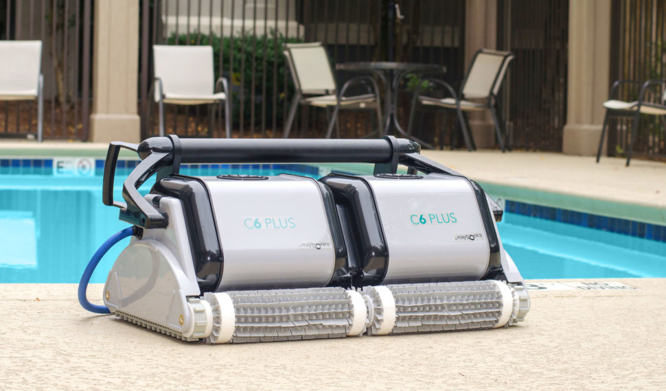Dolphin C6 Plus Commercial Robotic Pool Cleaner