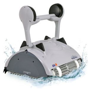 Dolphin DX4 Robotic Pool Cleaner - Splash