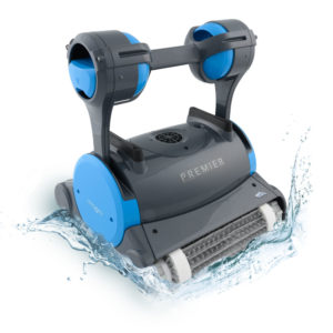 Dolphin Premier Robotic Pool Cleaner - Splash