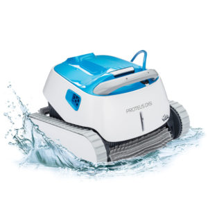 Dolphin Proteus DX5i Robotic Pool Cleaner - Splash