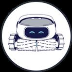 Robotic Cleaner Icon