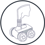 Suction Cleaner Icon