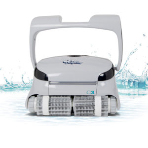 Dolphin C3 Commercial Robotic Pool Cleaner - Splash