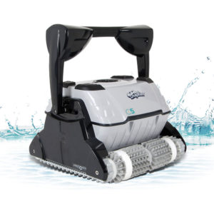 Dolphin C5 Plus Commercial Robotic Pool Cleaner - Splash