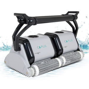 Dolphin C6 Plus Commercial Robotic Pool Cleaner - Splash