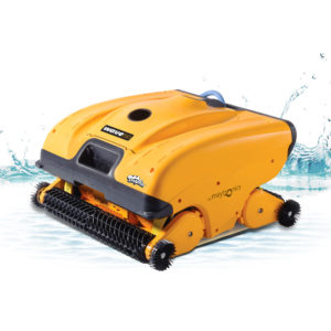 Dolphin Wave 150 Commercial Robotic Pool Cleaner - Splash