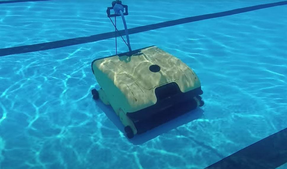 Dolphin Wave Robotic Cleaner Underwater