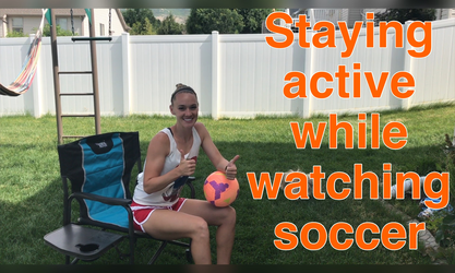 Sitting Moves to Stay Active while Spectating