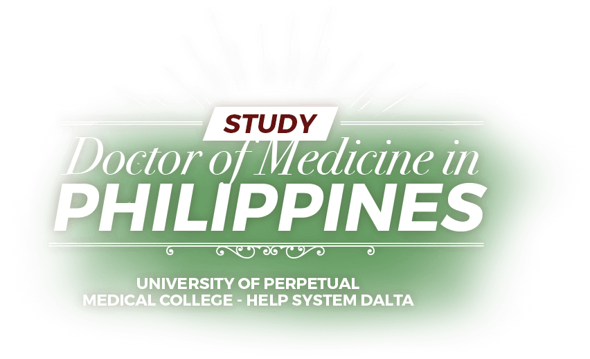 doctor of medicine philippines banner text