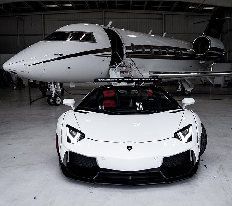 luxury jet websites