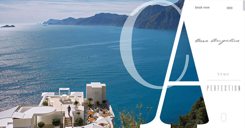Casa Angelina Hotel Website Design