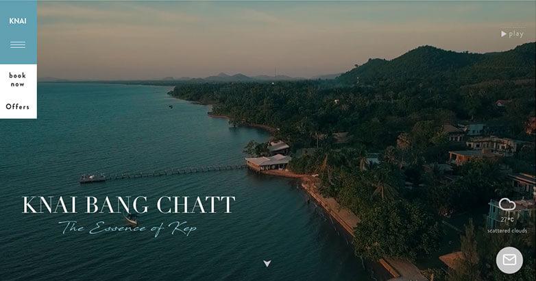 Luxury Web Design for Knai Bang Chatt Hotel