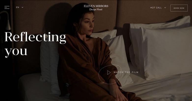 Luxury Hotel Web Design