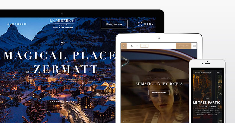 Luxury Hotel Website Design
