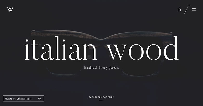 Italian Wood Website Design
