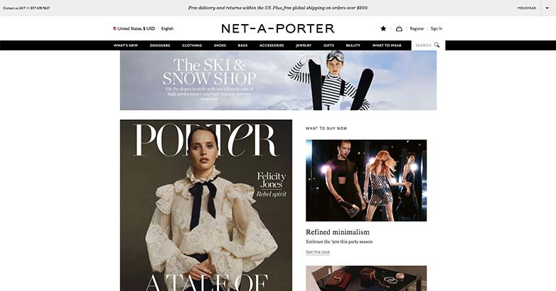 net-a-porter luxury online shop