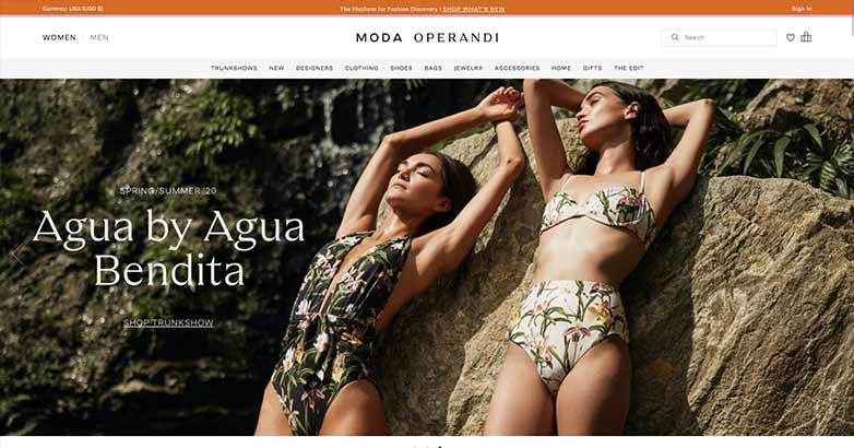 moda operandi online shopping