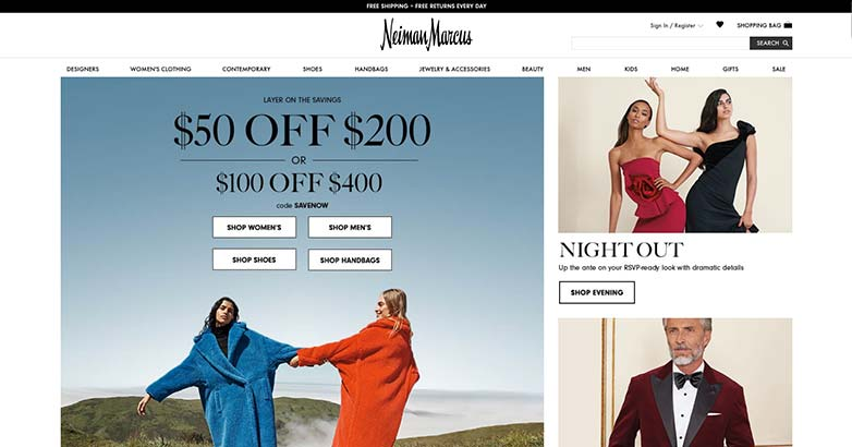 neiman marcus luxury shopping