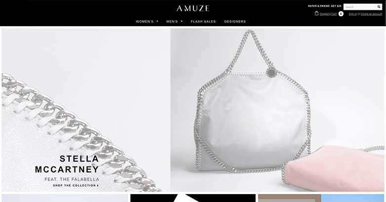 amuze offers the best luxury online shop