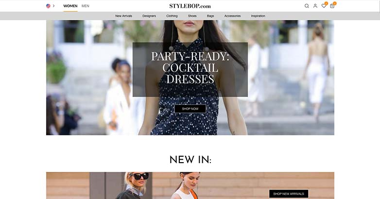 online luxury shopping by stylebop