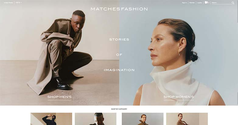 matches fashion has the best luxury online shopping
