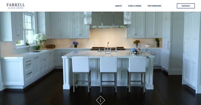farell building company construction website