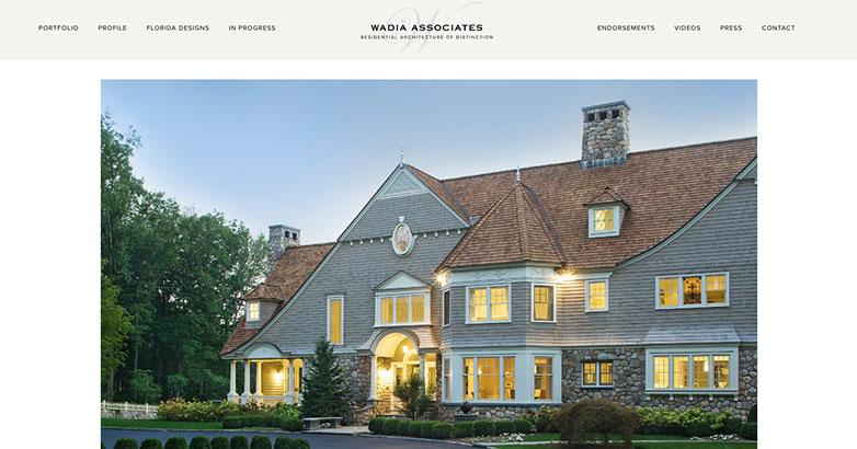 Wadia construction website
