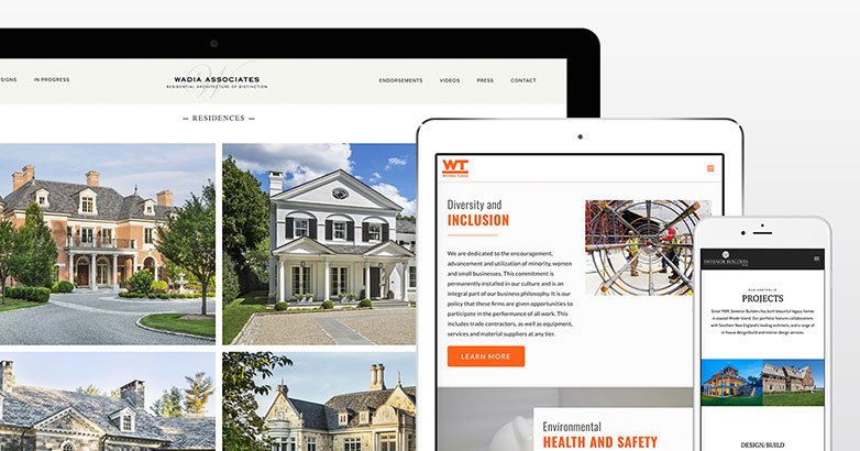 construction websites
