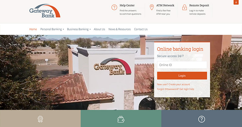 gateway bank website