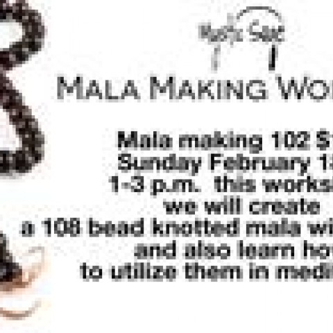 Mala making 102 W/Jen