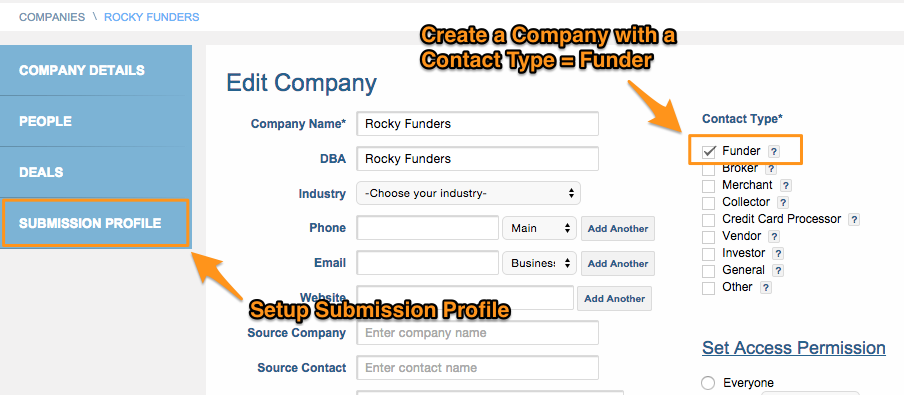 Company Funder