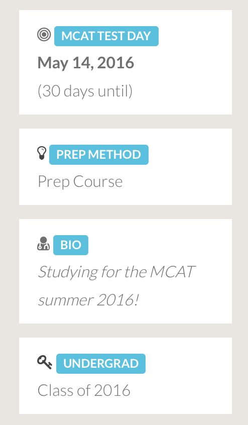 MCAT Social Prep Profile