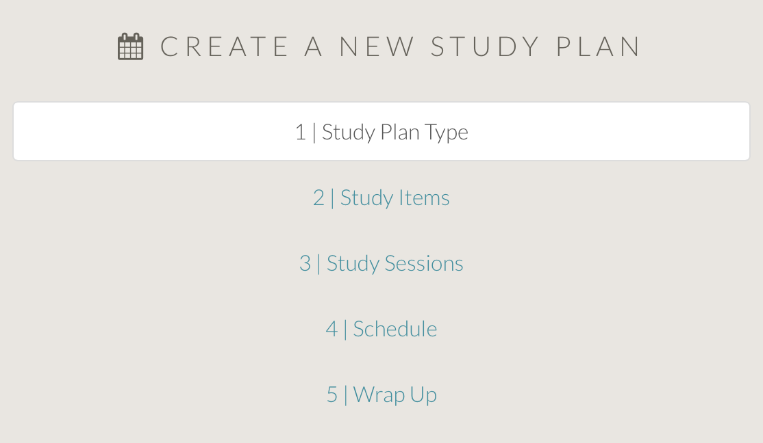 The New MCAT Study Plan Builder