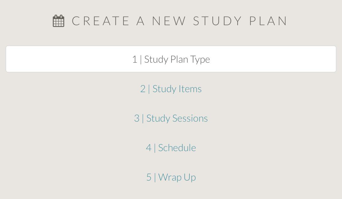 The New MCAT Study Plan Builder