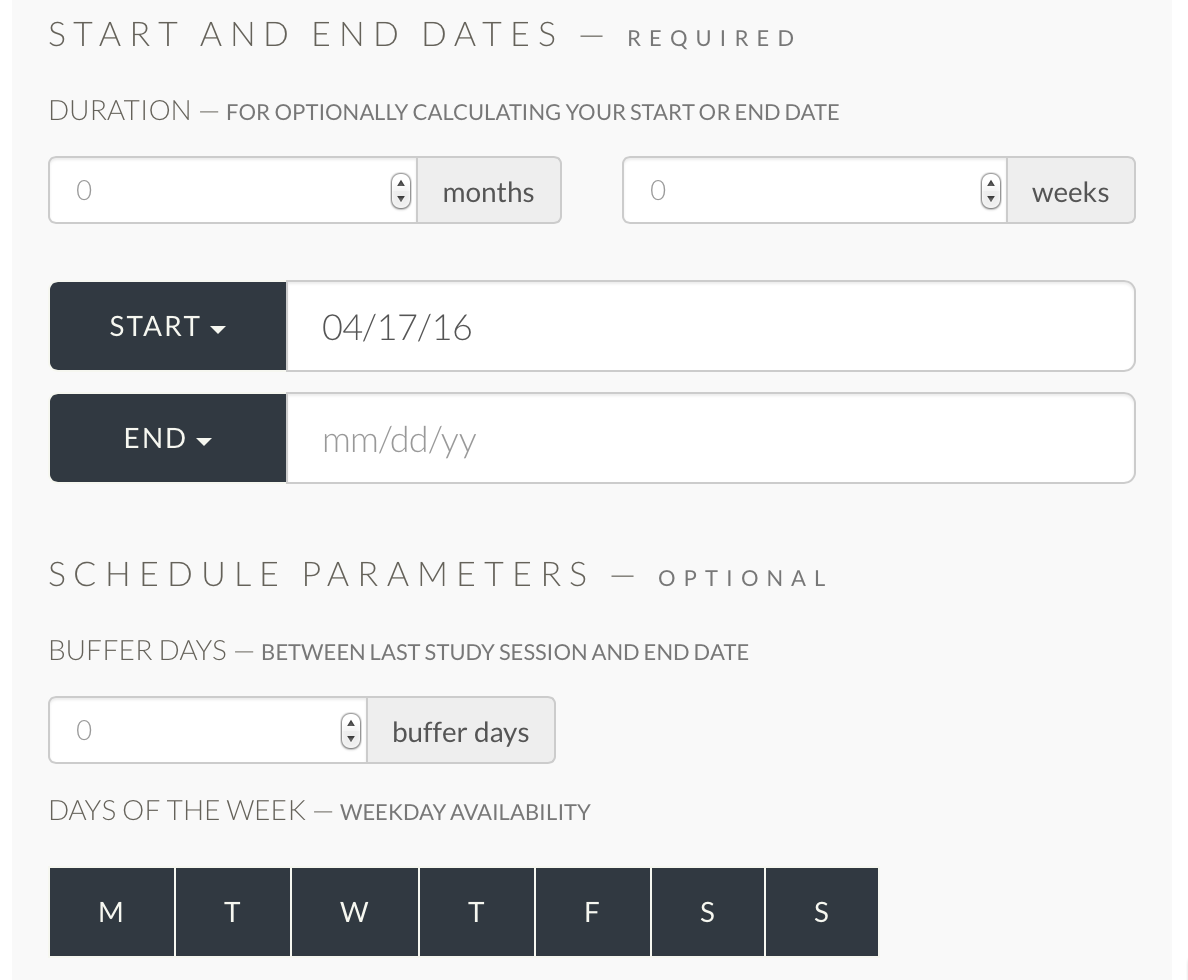 Custom scheduling with the MCAT.me Study Plan Builder