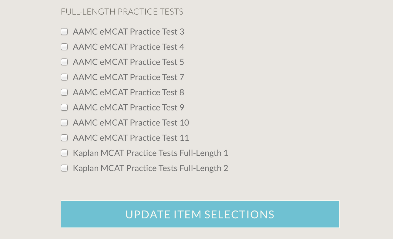 Now Schedule Practice Tests in Your MCAT Study Plan
