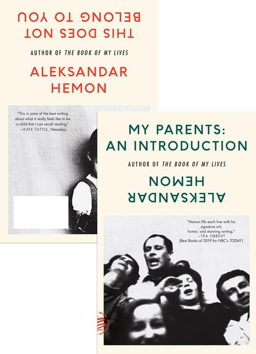 My Parents: An Introduction / This Does Not Belong to You book cover