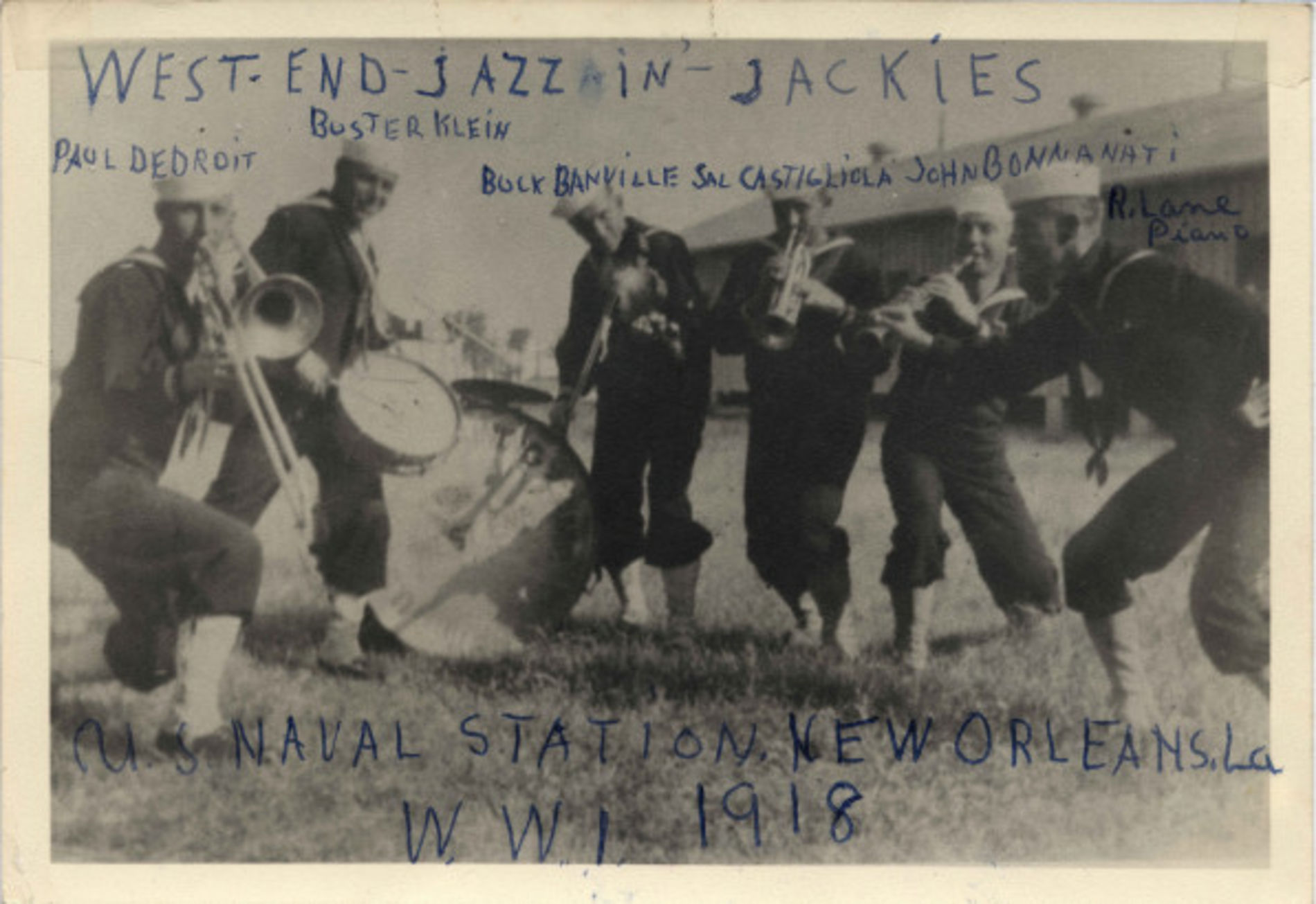 West end jazzin jackies 1918