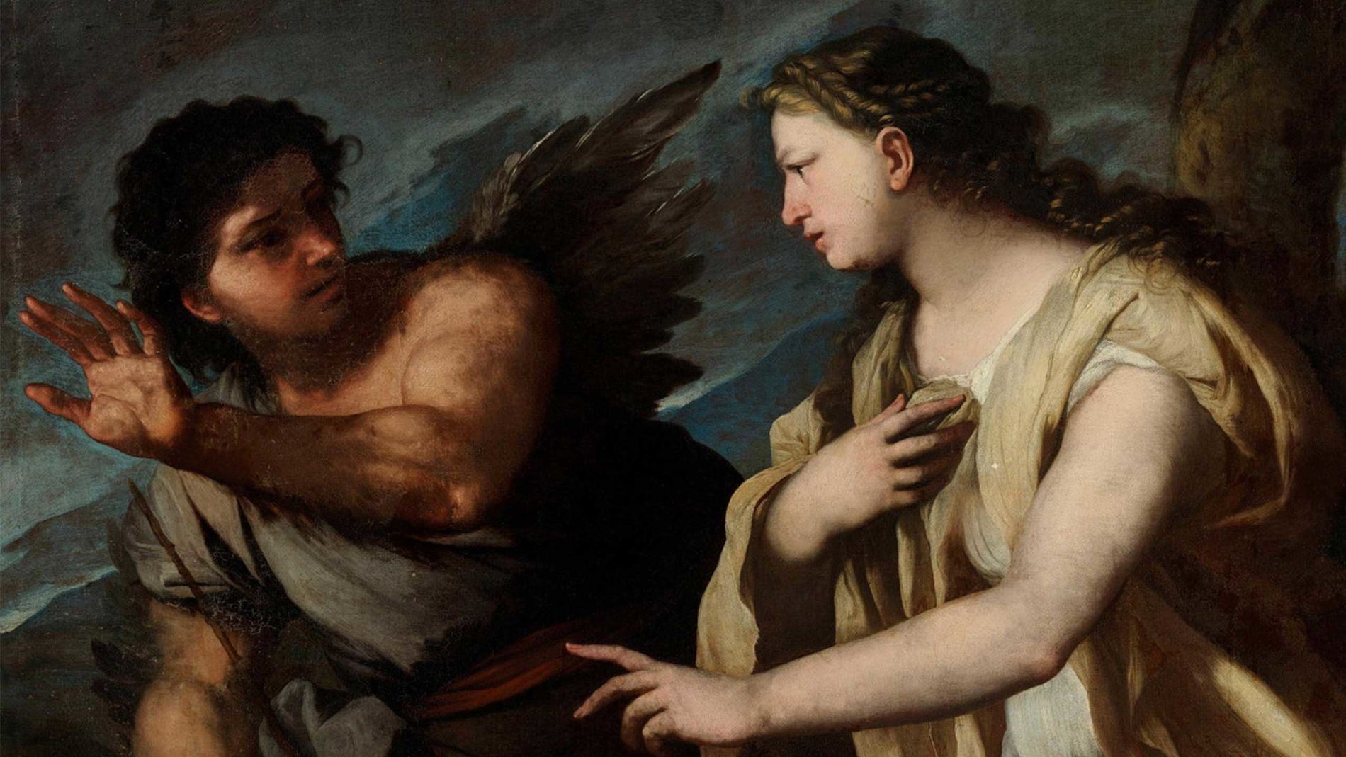 Luca giordano   picus and circe