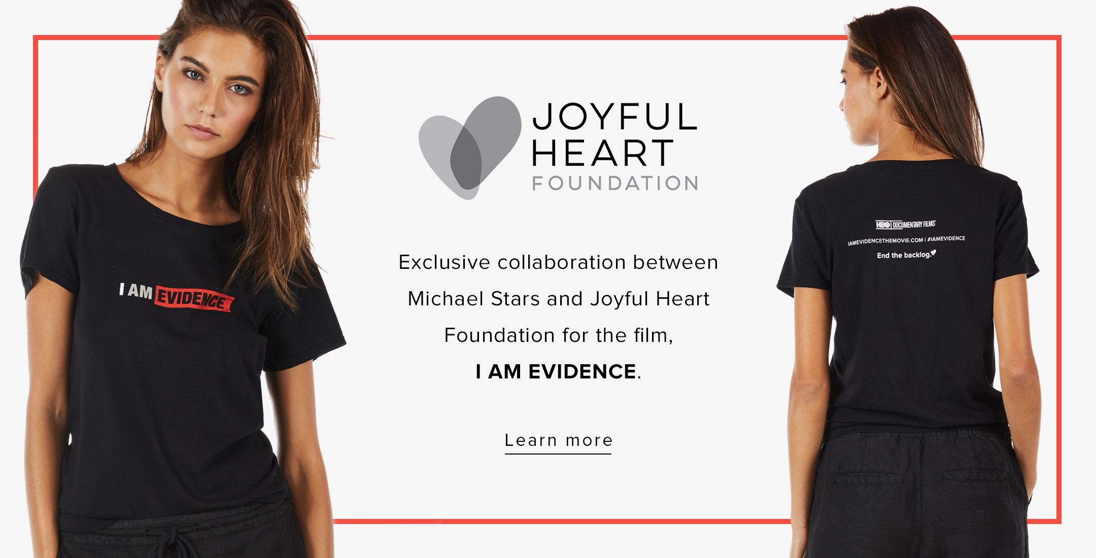 Joyful Heart Foundation CTA