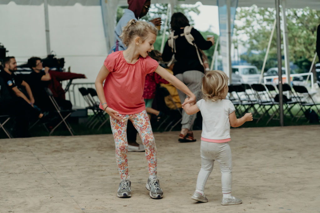National Folk Festival 2018 Dancing Kids - Chris Mcintosh