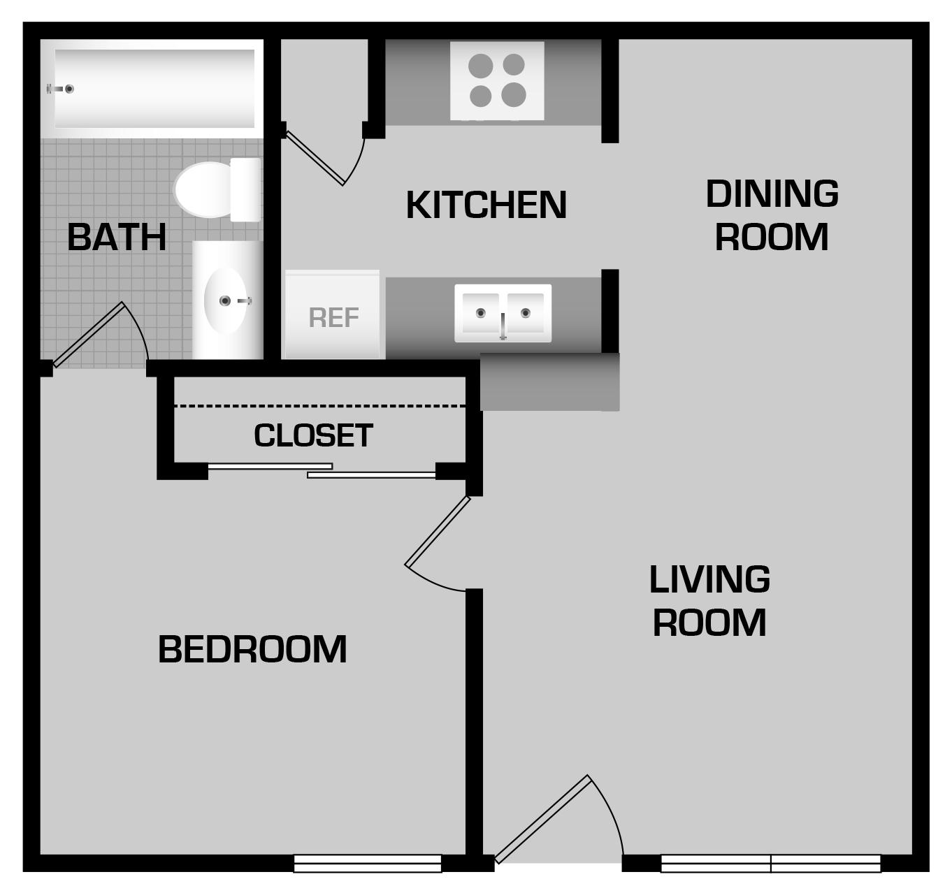 Varsity Apartments: Varsity-place-1bdrm-a