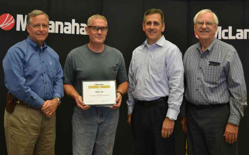 Blaine Link Service Award