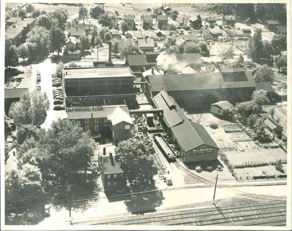 1949 Aerial View Of McLanahan