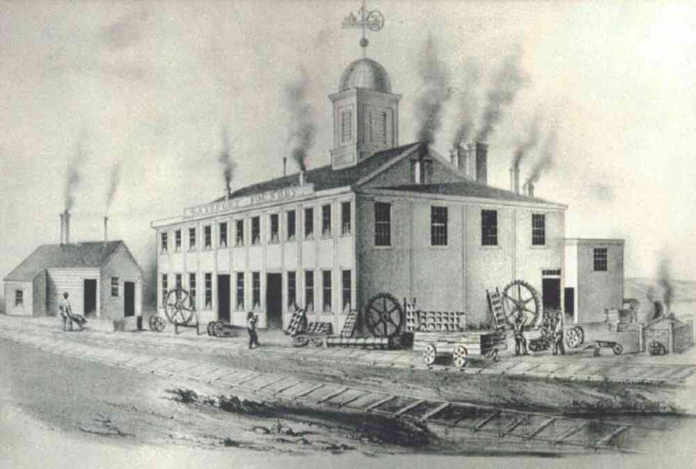 1835: Original Gaysport Foundry